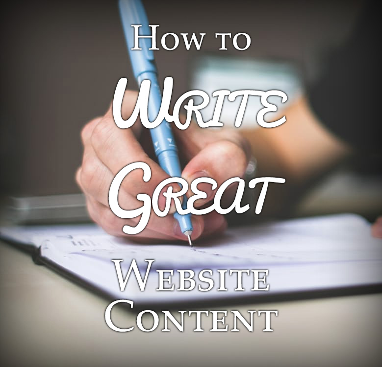 How to Write Great Website Content