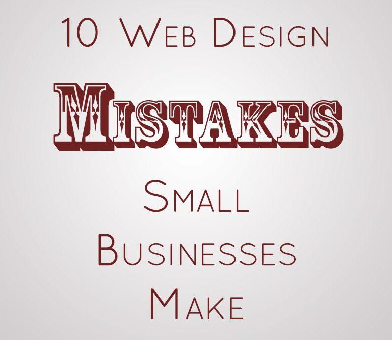 10 Web Design Mistakes